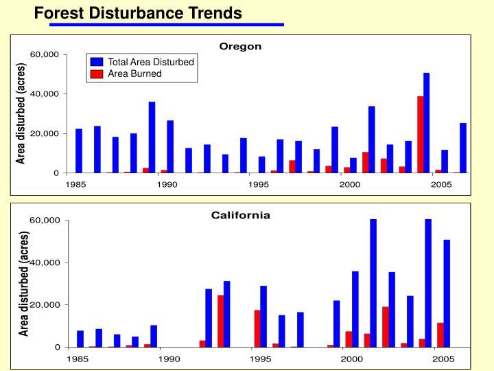 Forest Disturbance Trends