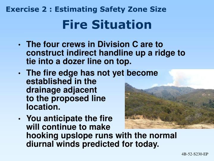 Exercise 2 : Estimating Safety Zone Size