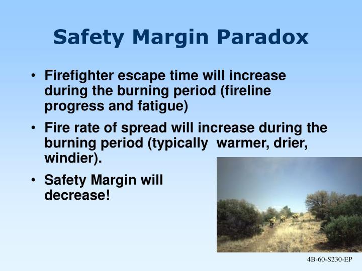 Safety Margin Paradox