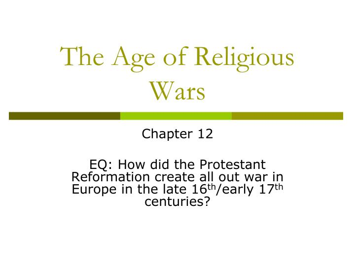 chpater 16 protestant reformation 1 Historical and philosophical foundations of for historical foundations of education and philosophical foundations of education the protestant reformation.