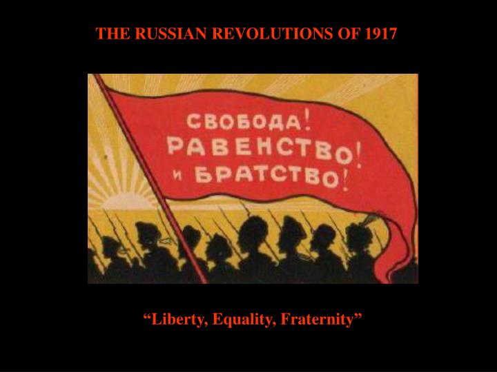 an analysis of the situation in russia before the revolution of 1917 Published: mon, 5 dec 2016 russia is a country with a great history back to the past, russia existed under the tsars since the 1533 when the country was dominated by the figure of ivan the terrible till the subversion of the nicolas ii on the time of revolution in 1917.