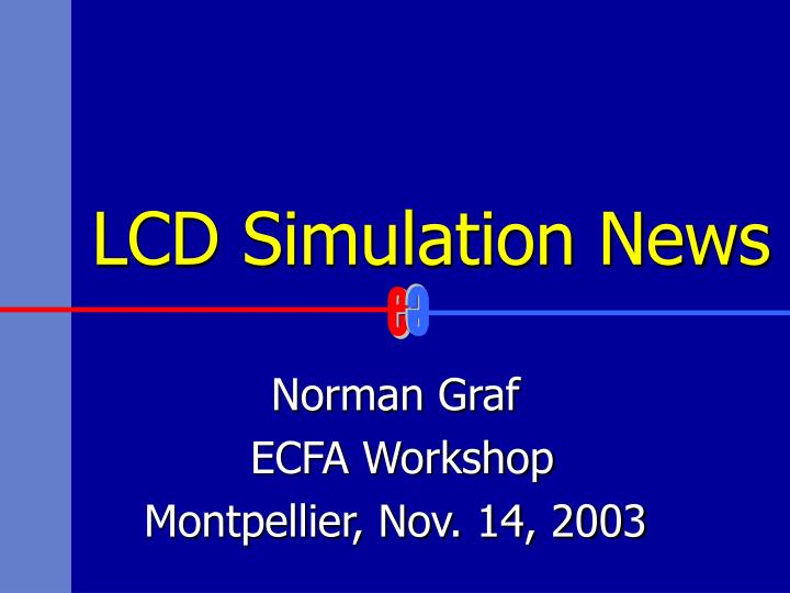lcd simulation news n.