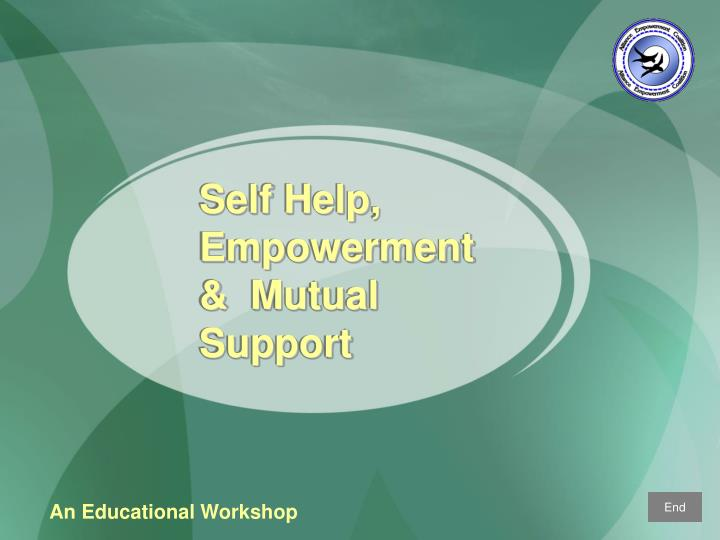 self help empowerment mutual support n.