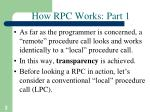 how rpc works part 1