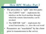how rpc works part 2