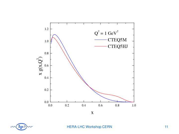 HERA-LHC Workshop CERN