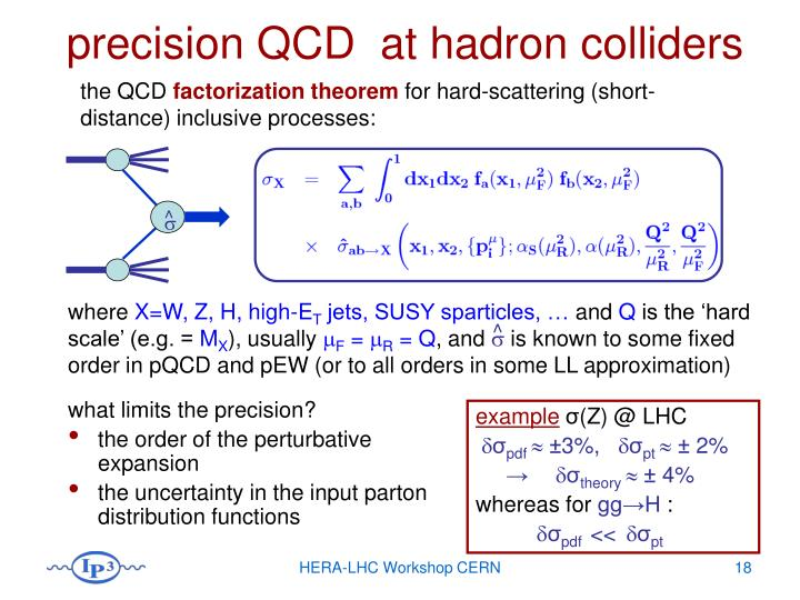 precision QCD  at hadron colliders