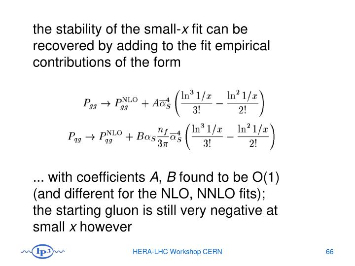 the stability of the small-