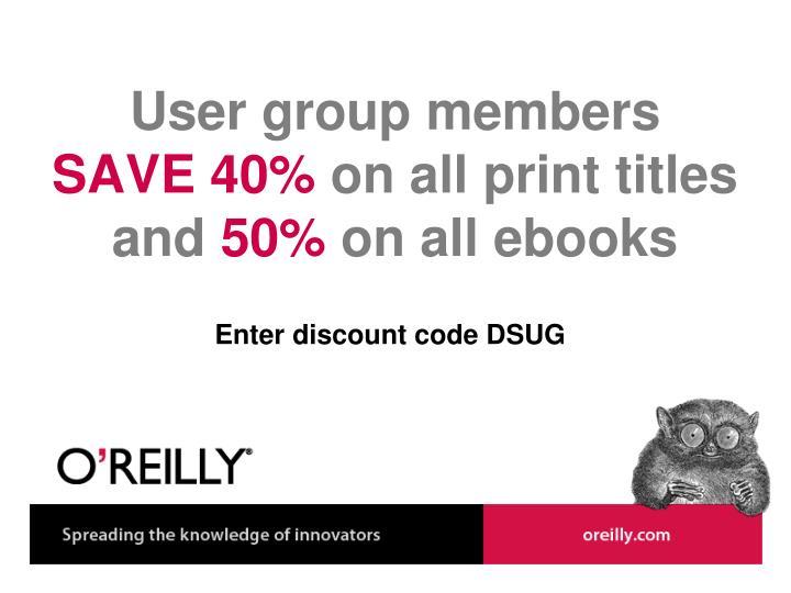 User group members