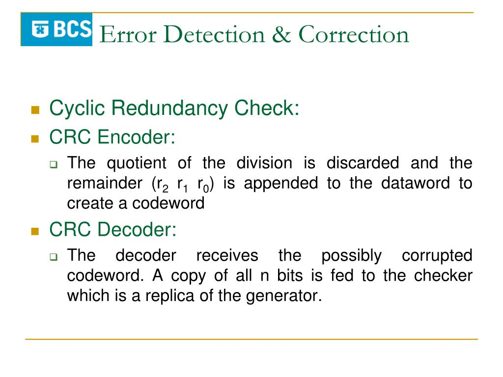 Crc Encoder And Decoder