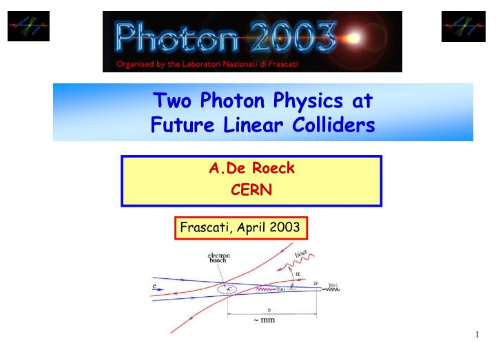 two photon physics at future linear colliders n.