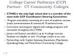 college career pathways ccp partner ct community colleges