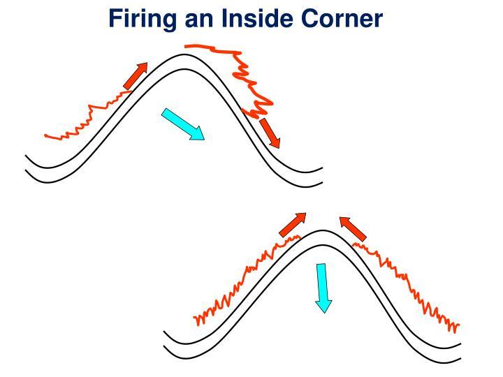 Firing an Inside Corner