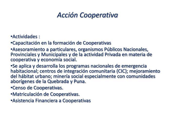 Acción Cooperativa