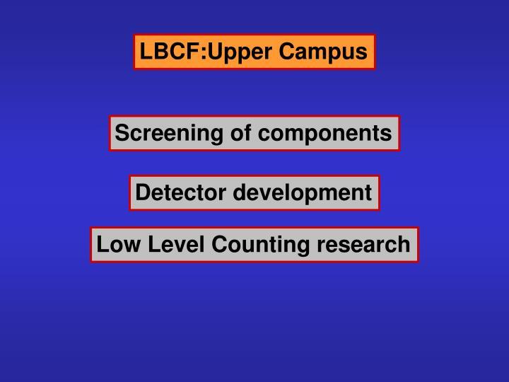 LBCF:Upper Campus