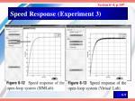 speed response experiment 3
