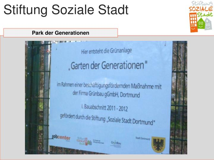 Stiftung Soziale Stadt