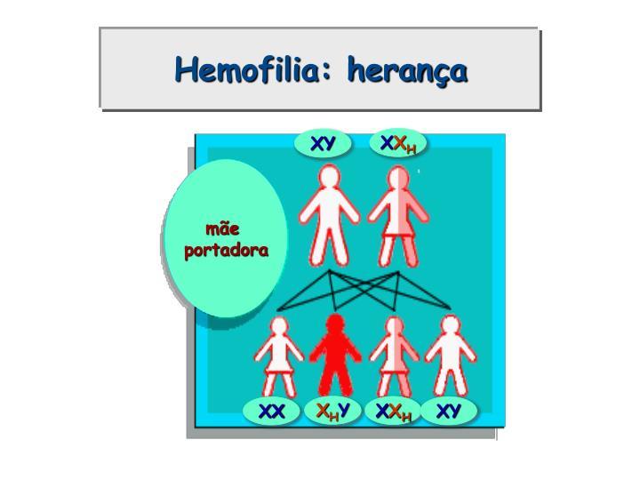 Hemofilia: herança