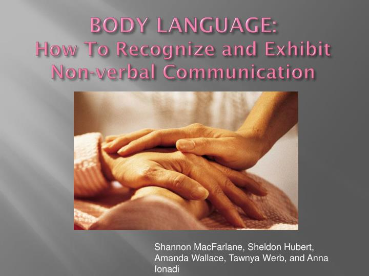 essay on non verbal communication Nonverbal communication essayswhat is nonverbal communication when most people hear the words nonverbal communication the first image that pops into their mind is a picture of a person who is deaf or someone who cannot speak and has learned to communicate through sign language or other.
