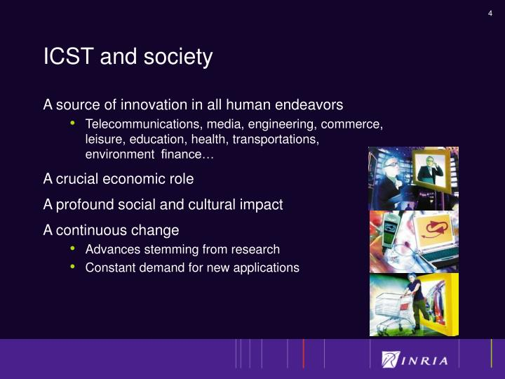 ICST and society