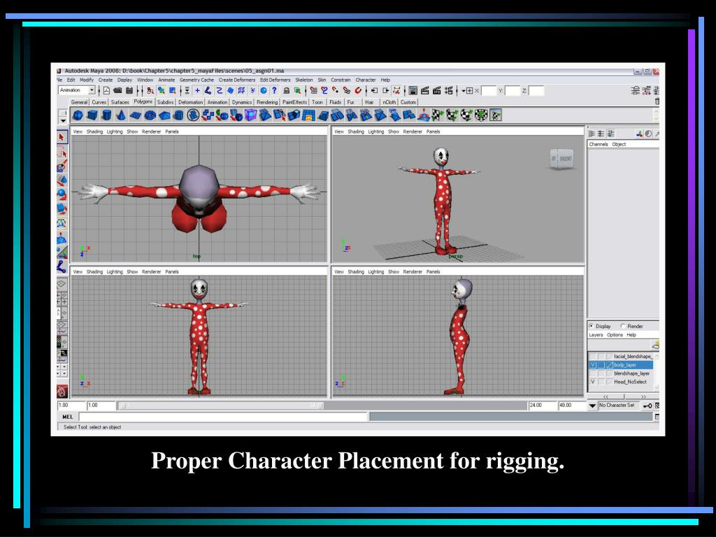 PPT - An Essential Introduction to Maya Character Rigging PowerPoint