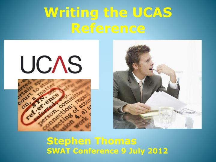 writing the ucas reference n.