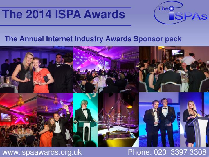 the annual internet industry awards s ponsor pack n.