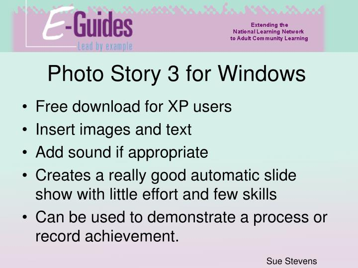 photo story 3 for windows xp free download