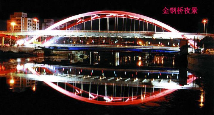 金钢桥夜景
