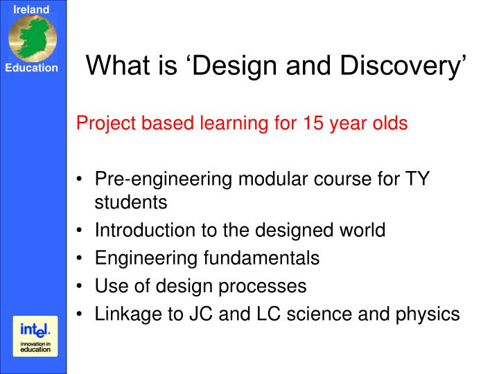 What is design and discovery