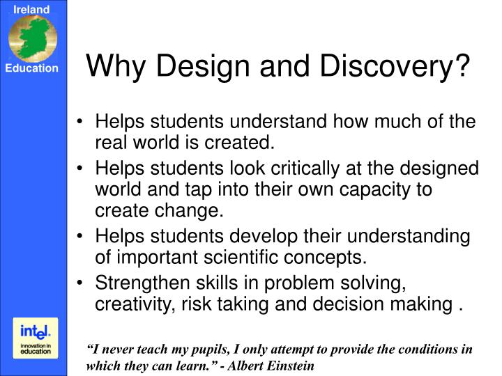 Why Design and Discovery?