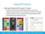 mbed api library