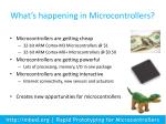 what s happening in microcontrollers