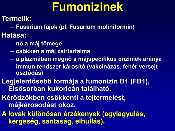Fumonizinek