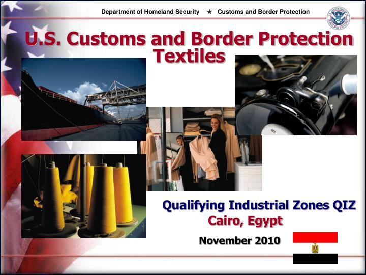 u s customs and border protection textiles n.