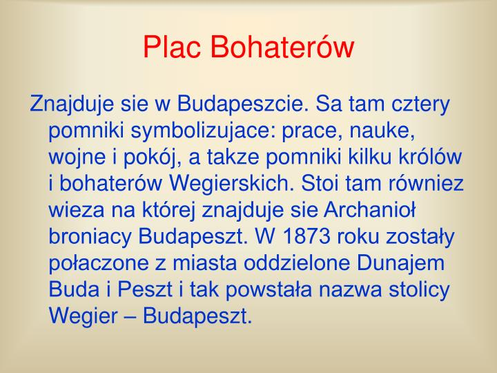 Plac bohater w