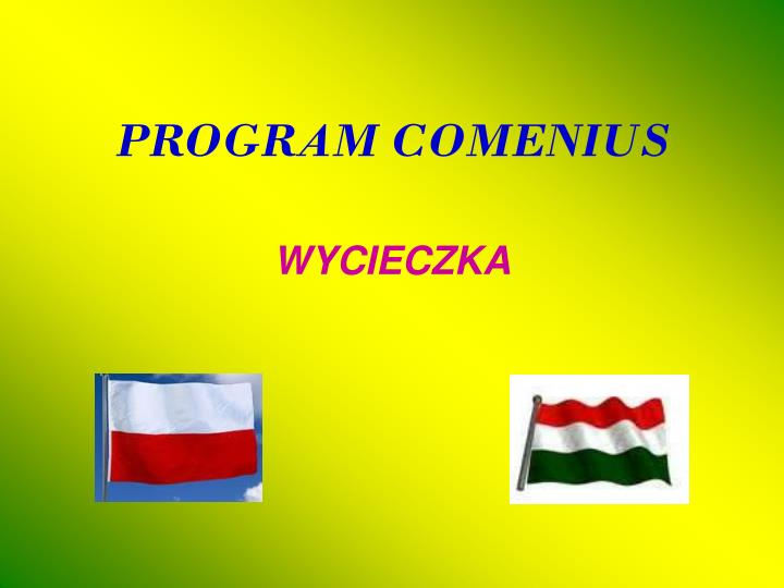 program comenius n.