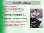 shellfish biotoxins