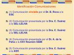 identificaci n comunicaciones