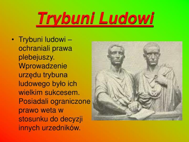 Trybuni Ludowi