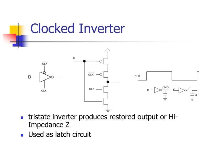 Clocked Inverter
