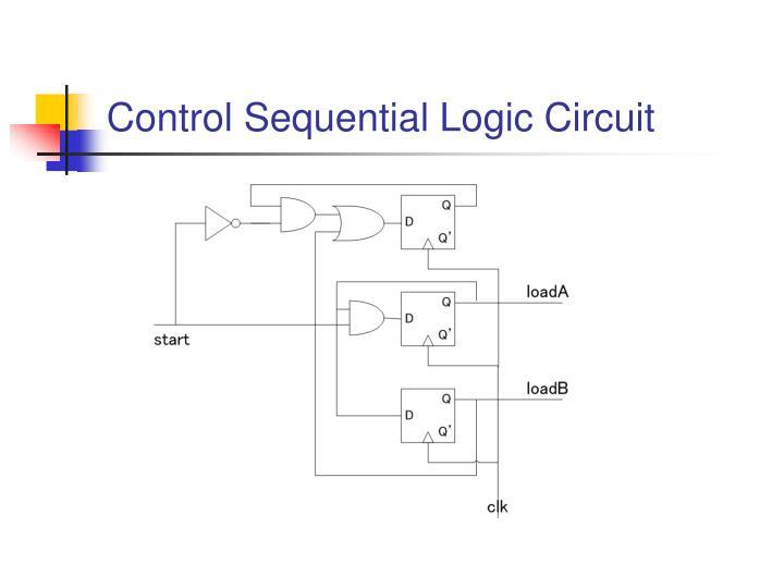 Control Sequential Logic Circuit