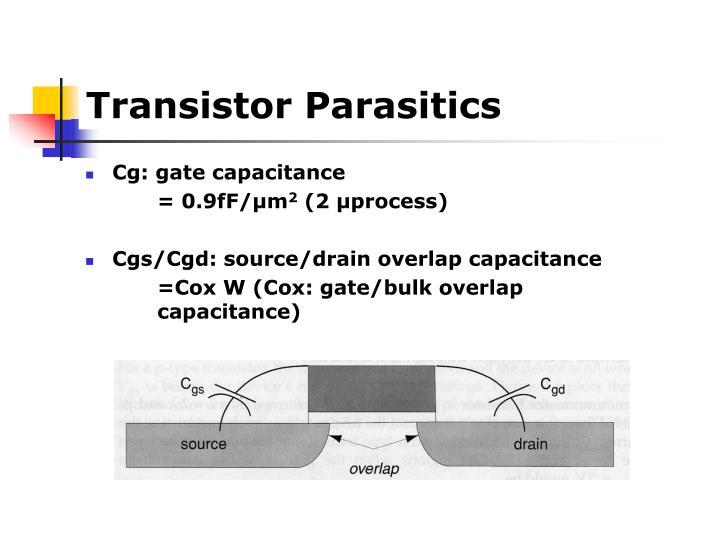 Transistor Parasitics