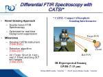 differential ftir spectroscopy with catsi