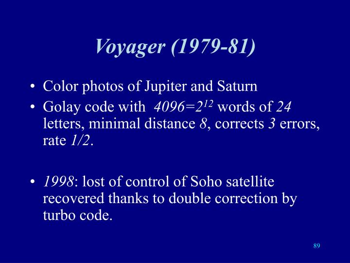 Voyager (1979-81)