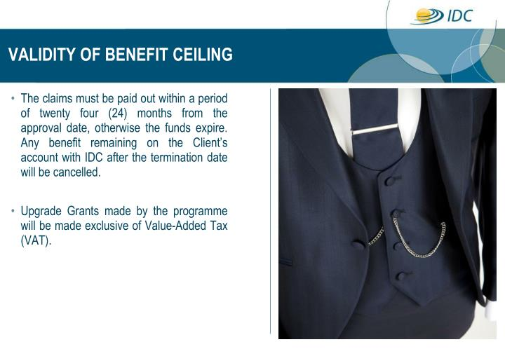 VALIDITY OF BENEFIT CEILING
