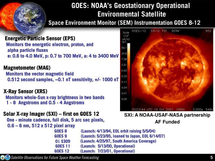 GOES: NOAA's Geostationary Operational