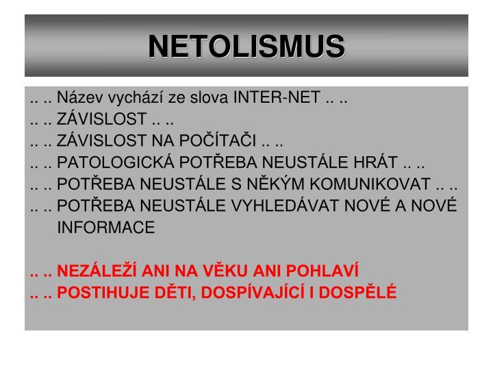 NETOLISMUS
