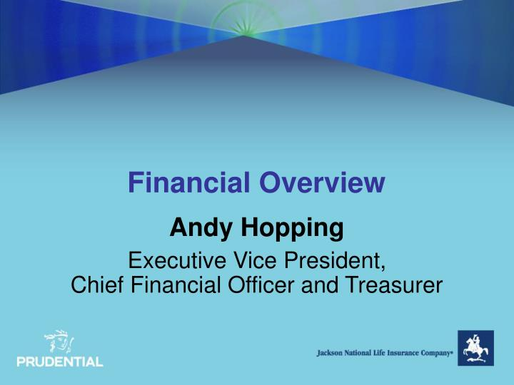 financial overview n.