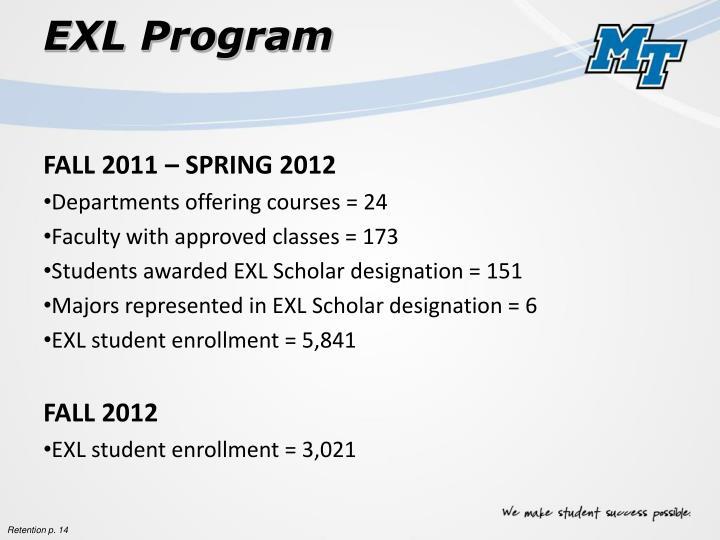 EXL Program